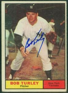 Original-Autograph-of-Bob-Turley-of-the-NY-Yankees-on-a-1961-Topps-Card