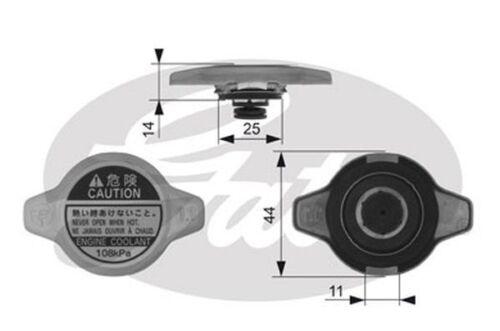 Genuine Gates Radiator Cap RC134