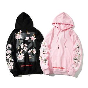 Details zu Kirschblüte OFF White Hoodie Pullover Firework Arrows Galaxy Hoodies Sweatshirts