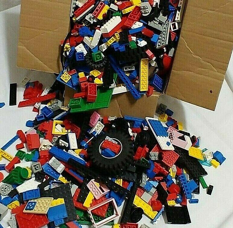 Énorme lot 9 Lb (environ 4.08 kg)  de legos avec LEGO Denim Sac de rangeHommest  réductions et plus