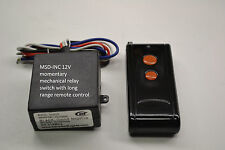 12V DC MOMENTARY 12v out relay switch with long range remote control RM11P
