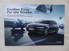 Audi S line style Sonderedition - A1 A3 A5 A6 Q3 Q5 - Prospekt Brochure 04.2015