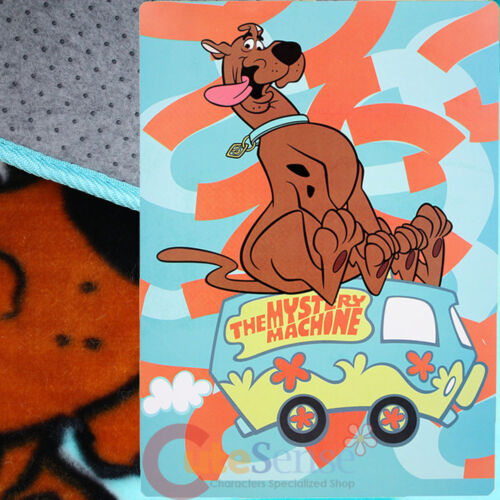 """72/""""x48/"""" , 4ft x 6ft Scooby Doo Soft Plush Carpet The Mystery Machine Area Rug"""