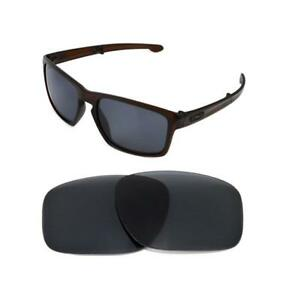 e0dbb25c6da Image is loading NEW-POLARIZED-BLACK-REPLACEMENT-LENS-FOR-OAKLEY-SLIVER-