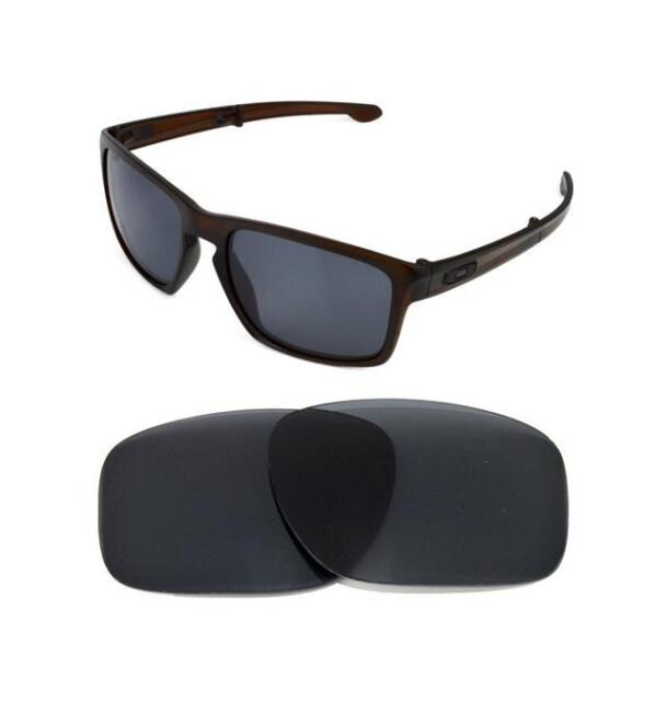 2a4b9372369 Polarized Black Replacement Lens for Oakley Sliver F Sunglasses for ...