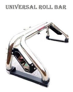 Fit-Isuzu-Redeo-D-Max-1999-18-Stainless-Steel-Sports-accessories-Roll-Bar-Bl