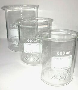 Set-Beakers-600-1000-2000ml-Borosilicate-glass-3-3-low-shape-with-spout