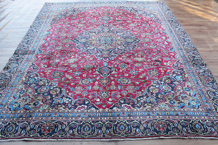 Traditionnel Classique Vintage Laine Fait Main Classique Traditionnel Oriental Zone Tapis Moquette 352 x 270 cm ff154b