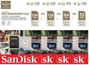 SanDisk-Max-Endurance-32GB-64GB-128GB-256GB-100MB-s-microSDHC-microSDXC-Card-LOT