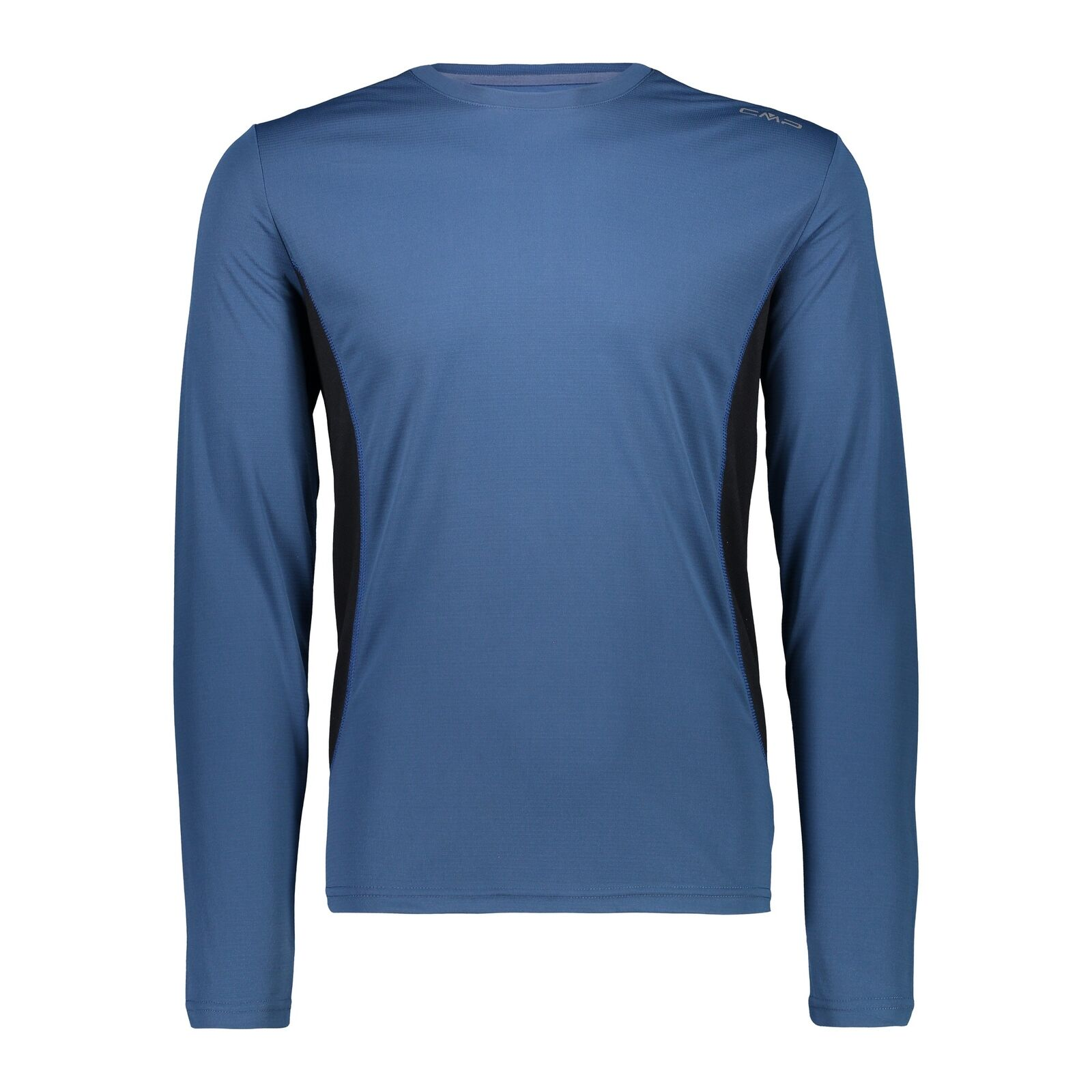 CMP Haut Fonctionnel Haut un Tee-Shirt Blau Respirant Antibactérien