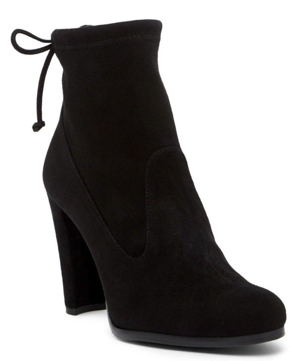 Nuevo En Caja  595 595 595 Stuart Weitzman Guante Botines para mujer botas al Tobillo De Gamuza Negro Talla 7.5M  marcas de diseñadores baratos