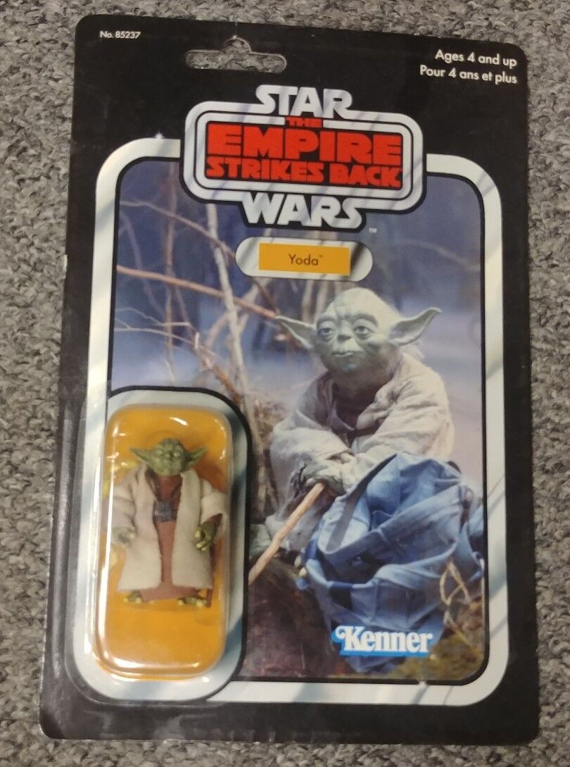 Kenner Star Wars The Return of the Jedi Yoda Brown Snake 2004
