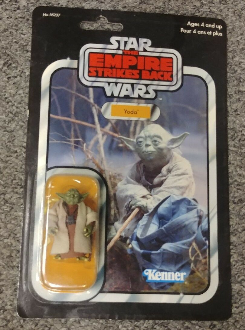 Kenner Star Wars The Return of the Jedi Yoda marrone Snake 2004