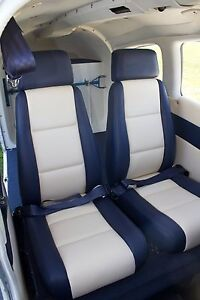 Piper Cherokee Models 4 Seat Complete Leather Interior Pa 28 Ebay