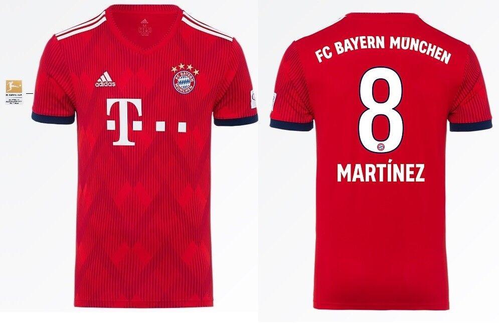 Trikot Adidas FC Bayern 2018-2019 Home BL- Martinez 8  Bundesliga