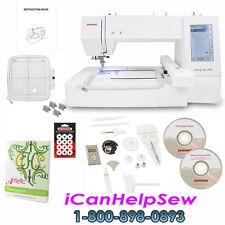 Janome Memory Craft 400E Embroidery Machine Bonus Artistic Monogram Software