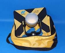 Topcon yellow Metal Prism w/ soft Bag for TOPCON Sokkia total station surveying