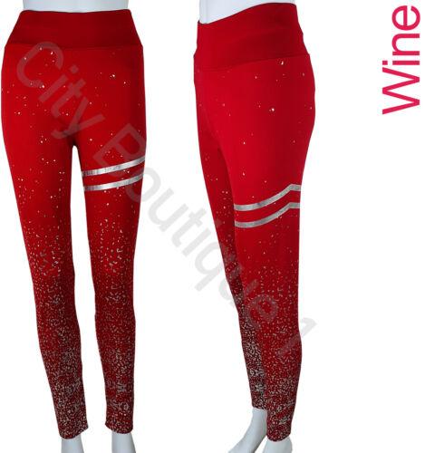 Womens Sports Leggings High Waist Fitness Sports Running Full Length Trousers