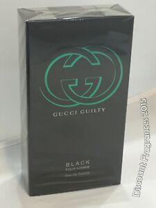 06a99cc74 Gucci Guilty Black For Men Eau De Toilette Spray Pour Homme 90ml ...