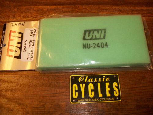 Suzuki   Air filter  TC125 TS125 TS185 UNI  NU-2404 arma Vintage air cleaner TS