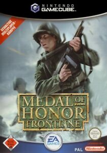 Nintendo-GameCube-Spiel-Medal-of-Honor-Spiel-Frontline-DEUTSCH-mit-OVP