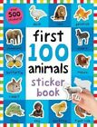 First 100 Animals Sticker Book by Roger Priddy (Paperback / softback, 2016)