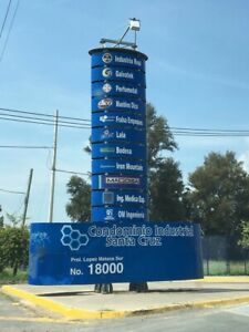 Terreno dentro de parque industrial Santa Cruz