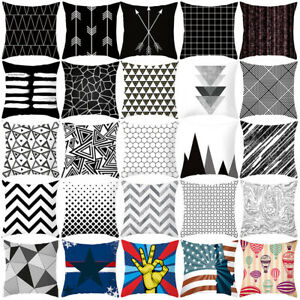 Am-Abstraction-Geometric-Throw-Pillow-Case-Cushion-Cover-Home-Sofa-Decor-Effici