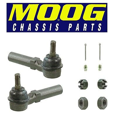 For Chrysler Neon Pair Set of 2 Front Outer Steering Tie Rod Ends Moog ES3173RL