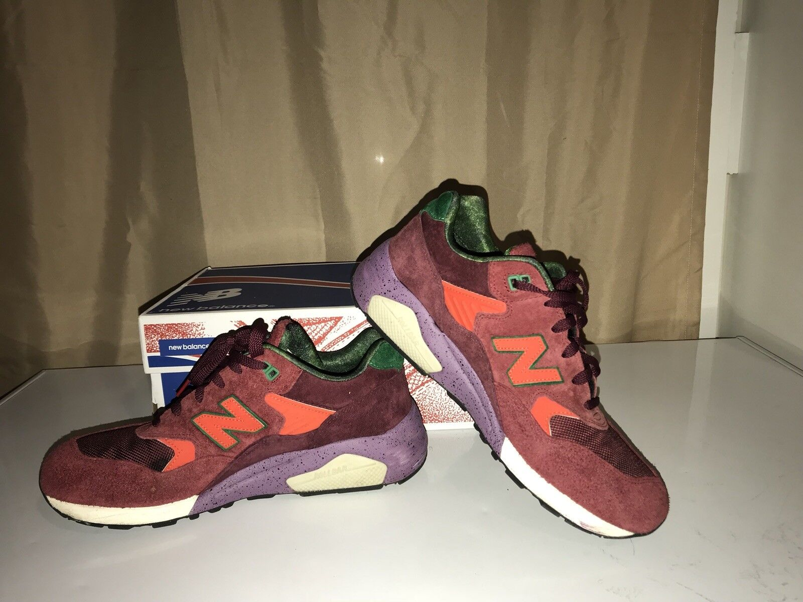 Acker Packers shoes x New Balance MT580  Pine Barrens