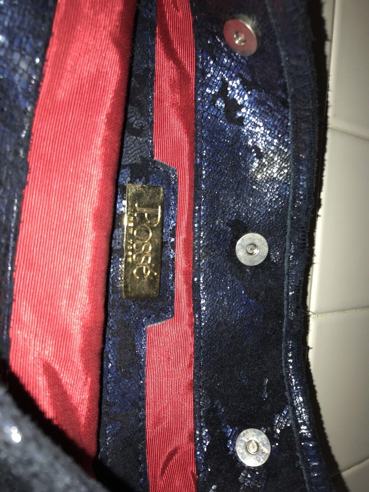 POSSE Black Leather  Hobo shoulder Bag New York - image 3