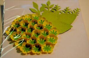 3D-DIE-CUT-PUNCH-ART-FLOWERS-YELLOW-TOPPER