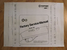 Crosman 766 O-Ring Seal Kit + Factory Service Manual & Seal Guide