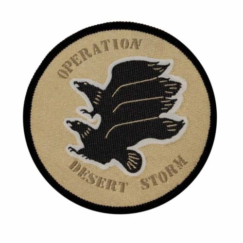 Operation Desert Storm Patch US Army Gulf War Eagle Sew On Woven Applique