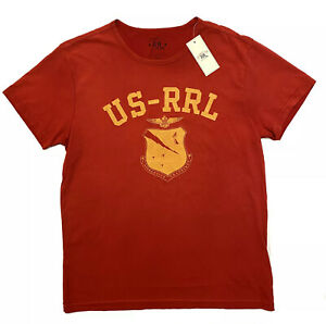Ralph Lauren RRL DOUBLE RL Graphic T-shirt Gr M