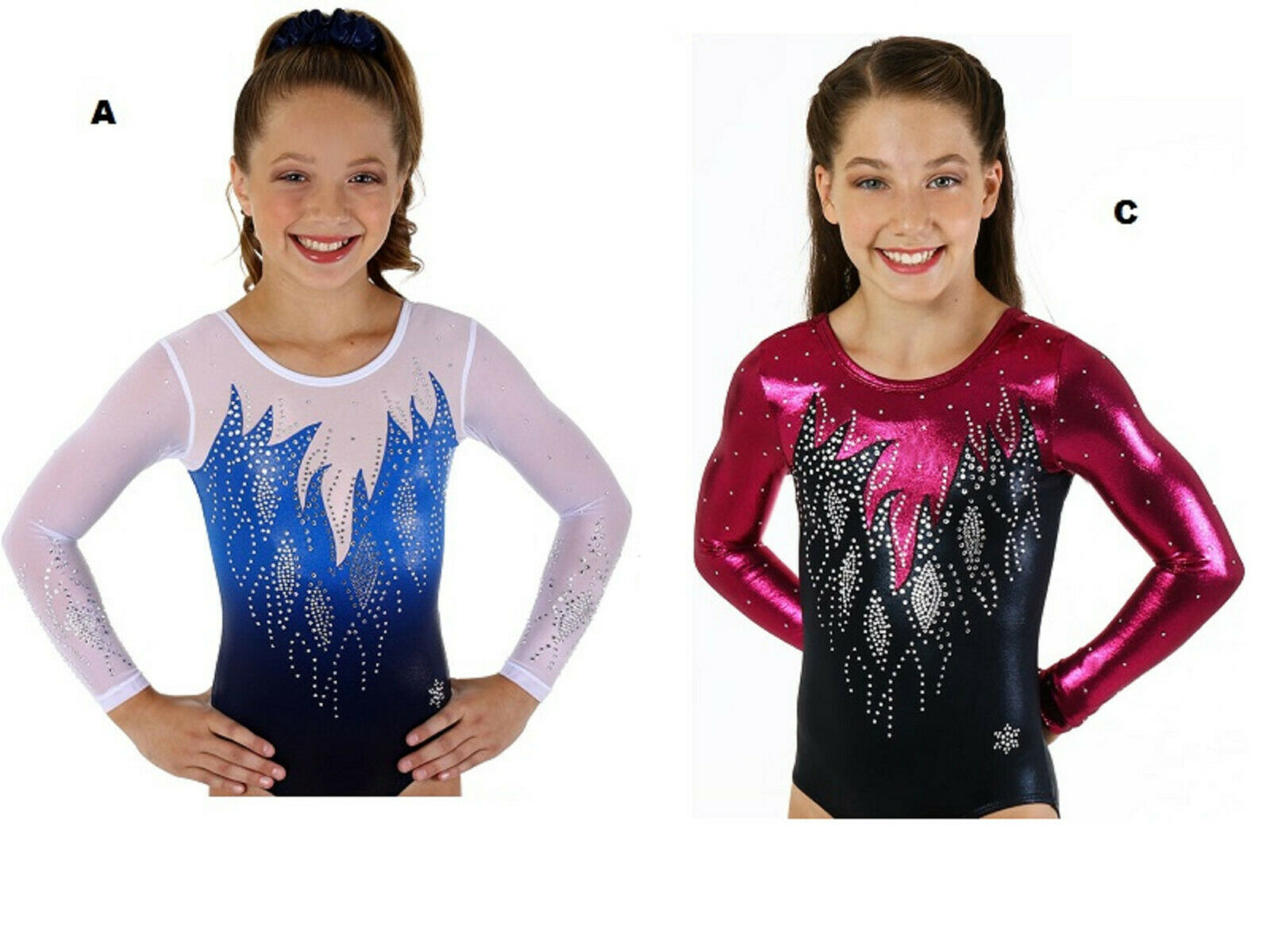 NEW  Icy Gymnastics Competition Leotard by  Snowflake Designs  the latest