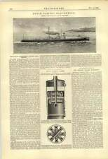 1888 Dutch Government Torpedo Boat Empong David Wood Cradley Heath Boiler