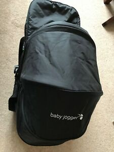 Baby-Jogger-City-Mini-Compact-Carrycot-Black-single-buggy-adaptors
