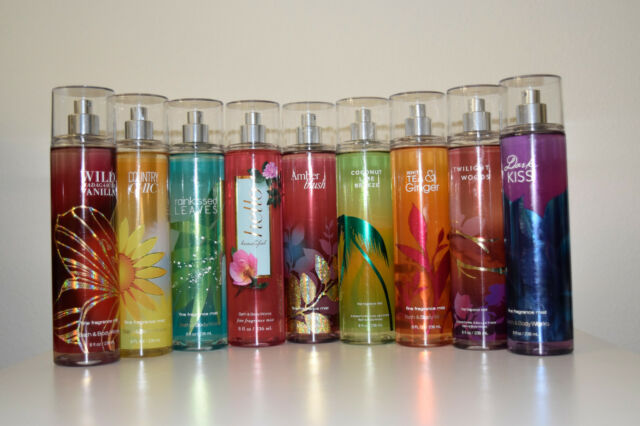 Bath And Body Works Fine Fragrance Mist Body Splash Spray 6/8 FL OZ YOU Choose!!