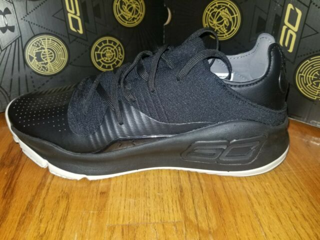 Under Armour Curry 4 Low Mens Black