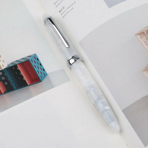 Hot Sale Penbbs 266//308 Acrylic China Fountain Pen Smooth Fine 0.5mm Nib Gift#YO