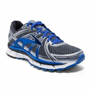ca7aa1f8dcaec Men s Adrenaline GTS 17 Anthracite Electric Brooks Blue Silver ...