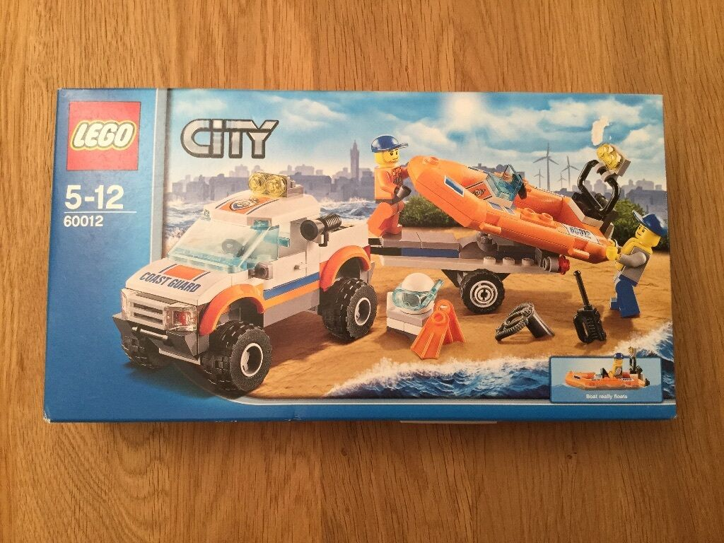 LEGO City 4x4 & Diving Boat (60012)
