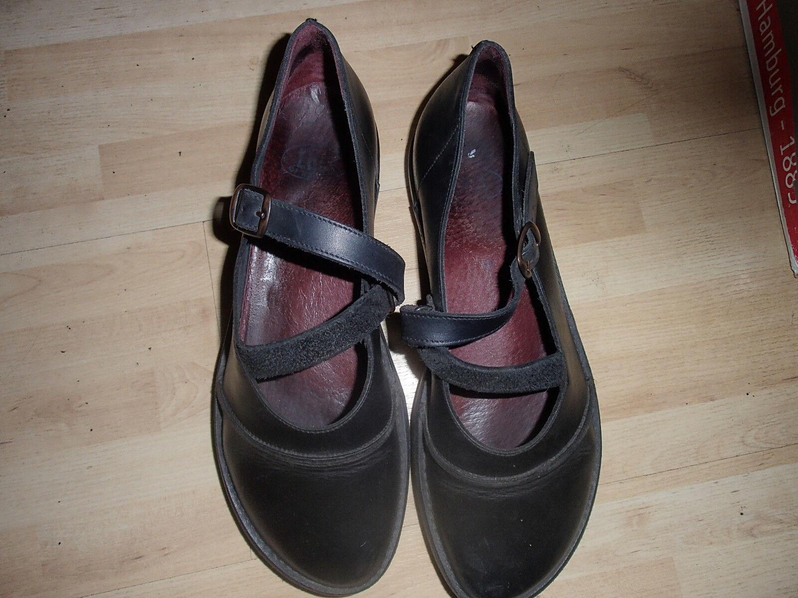 Schöne Ballerinas von Loints in schwarz