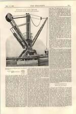 1899 Hydraulic Jib Crane Leeds Engineering Hospital At Aswan Dam