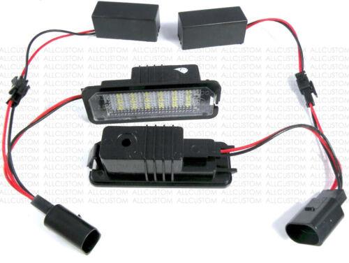 LED ECLAIRAGE BLANC XENON PLAQUE IMMATRICULATION pour SEAT ALTEA /& XL 2009-2013