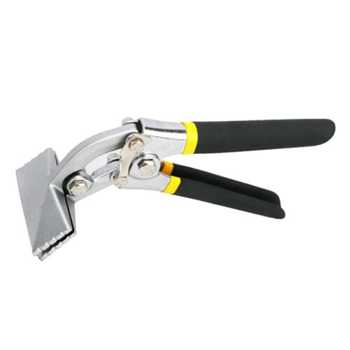 Multi-Purpose Sheet Metal Bending Pliers Hand Seamer Wide Jaw Elbow 75mm
