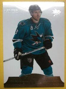 2013-14-Panini-Dominion-Hockey-81-Joe-Pavelski-San-Jose-Sharks-142-299