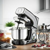 Professional Stand Mixer 6-qt Powerful Stainless Steel Cakes Desserts Cooking