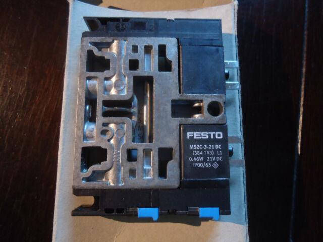 l1 0,46w Festo mszc 3-21 dc Pneumatik válvula de solenoide de 384163